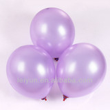 red and gold party decorations santa balloorns Round 12-inch 3.2 grams pearl light purple balloons