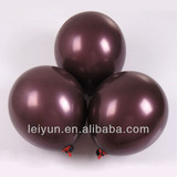 christmas decorations cars foil ballons Round 12-inch 3.2 grams deep crimson pearl balloons