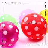 Size 12 inch Polka Dot round balloon party decor hello kitty sky balloon walking balloons