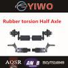 Stub rubber torsion axle manufacturer