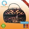 girl leopard cosmetic case, cheap cosmetic case, animal cosmetic case, girl beauty case, cosmetic case