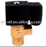 Angle water valve 12V for WATER OIL AIR(SDF)