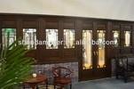 Moser China style solid wood elegant window