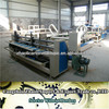fully automatic corrugated paperboard box chest folding and gluing making machine