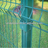Galvanized or PVC Coated 3D Curved Welded Wire Mesh Fence