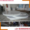 2014 new modern rotatable round MDF coffee table