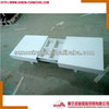 2014 new modern extendable white coffee table with drawers