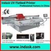 Indask F2512 UV large format uv flatbed printer machine for glass, wood, MDF , acrylic