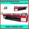 Indask R5200 UV Flatbed Printer with Roll to Roll paper printer