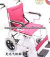 Ultralight manual wheelchair aluminum wheelchair supply chrome plated wheelchair