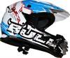DOT/ECE off-road helmet graphic designer