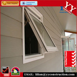 AS2047 Australian standard double glazed Aluminum frame awning window manufacture in china