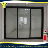 AS2047 Australia Standard stacker office doors with glass with AS2208 Double Glazing Glass