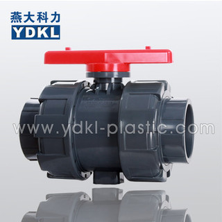 Full Port Design Pvc double true union valve