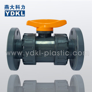 Easy Maintenance And Automated double true union pvc ball valve