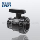 EPDM Seal single union pvc ball valve