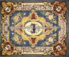 natural marble marble mosaic rug