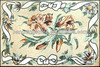natural marble mosaic decor