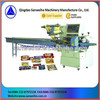 automatic double servo motor pillow-shape packing machine