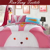cartoon kids animal bedding