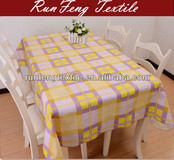 elegant new polyester printing table cloth