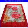 queen fleece blanket/polyeser blanket/mink blanket/printed blanket