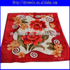 polar fleece fabric/polyeser blanket/mink blanket/printed blanket