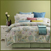 Latest beautiful flower design printed Egyptian cotton bedding set /bed linen/ new bed sheet set wholesale