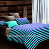 Knitted elastic fabric life comfort 100% cotton bed linen/sheet/cover set manufacturers in China