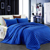 Knitted elastic fabric strip design 100% cotton bed linen/sheet/cover set manufacturers in China