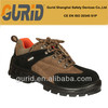 Comfortable Suede Leather steel toe cap and plate safety shoes for women