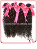 100% virgin brazilian hair wholesale curly wave hair weave