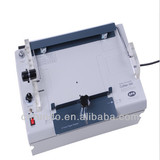 Single spiral automatic book binding machine
