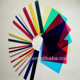 Plastic binding combs PVC binding cover
