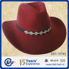 100% Australia Wool cowboy felt hat / winter hat