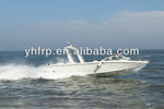 YH113 11m fiberglass best large rescue boat with diesel engine