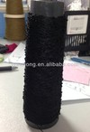 polyester thread bead yarn for knitting and weaving