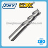 3 Flutes Uncoated Aluminum Carbide End Milling Cutter