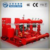 Diesel fire pump packaged