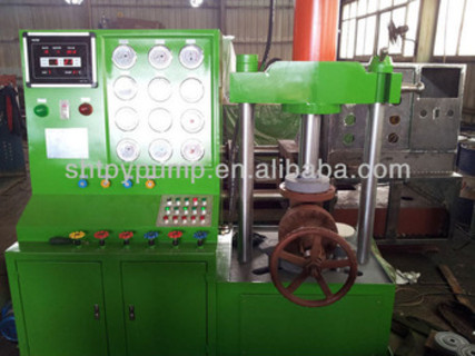 vertical valve test bench,high pressure valve test