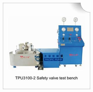 relief valve test bench, pressure relief valve test