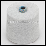 21s grey recycled polyester cotton blended yarn for socks