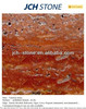 Red travertine marble stone tiles & slabs & cut to size & countertop polished or honed