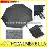 "23""X8K Two Layer Auto Open and Close Wind-release Big Folding Umbrella"