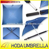 Hot OEM Square Rustless Frame and Shape Top Quality Golf Umbrella