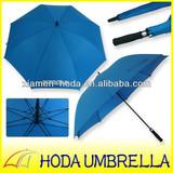 Auto Open Big Fiberglass Single Layer Golf Umbrella In Fujian