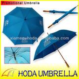 Motor brand Hyundai promotional wooden umbrella
