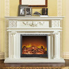 Stone Fireplace Mantel Marble Fireplace
