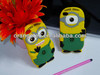 Despicable ME2 Silicone Cell Phone Case Cover for iPhone 4 4G 4S Mobile Phone Case Cover Waterproof Protective Case Cover