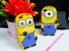 Despicable ME2 Silicone Mobile Phone Cover for iPhone 4 4S 4G Wholesale Cheap Protective Cover Case for Apple Cell Phone Cover